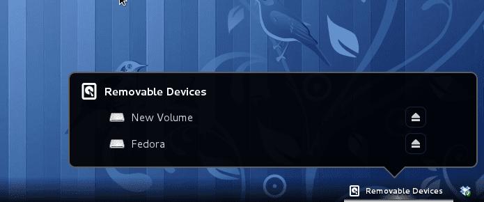 Listado de dispositivos conectados