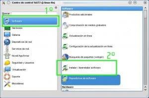 Centro software OpenSuse