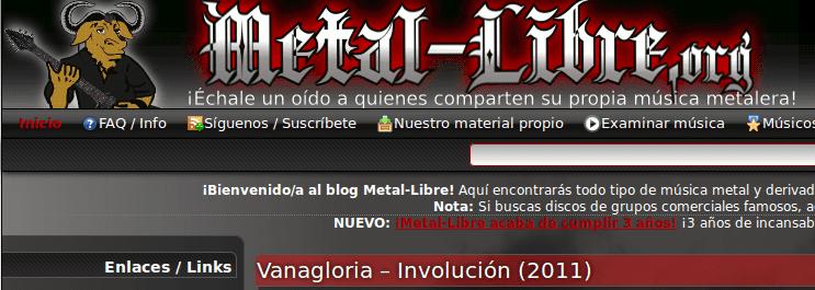 Metal libre