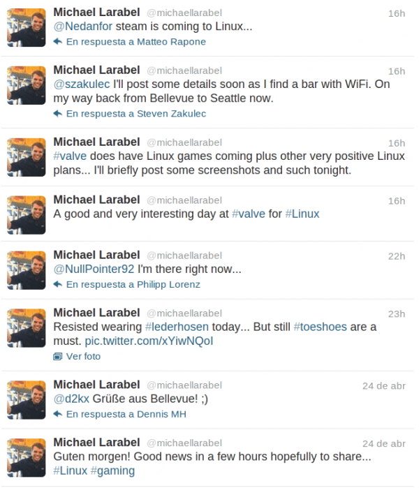 Tweets de Michael Larabel