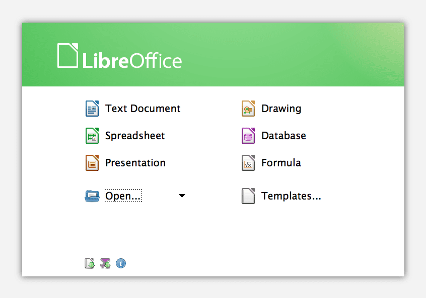 LibreOffice3.6.0.2plusStartCenter