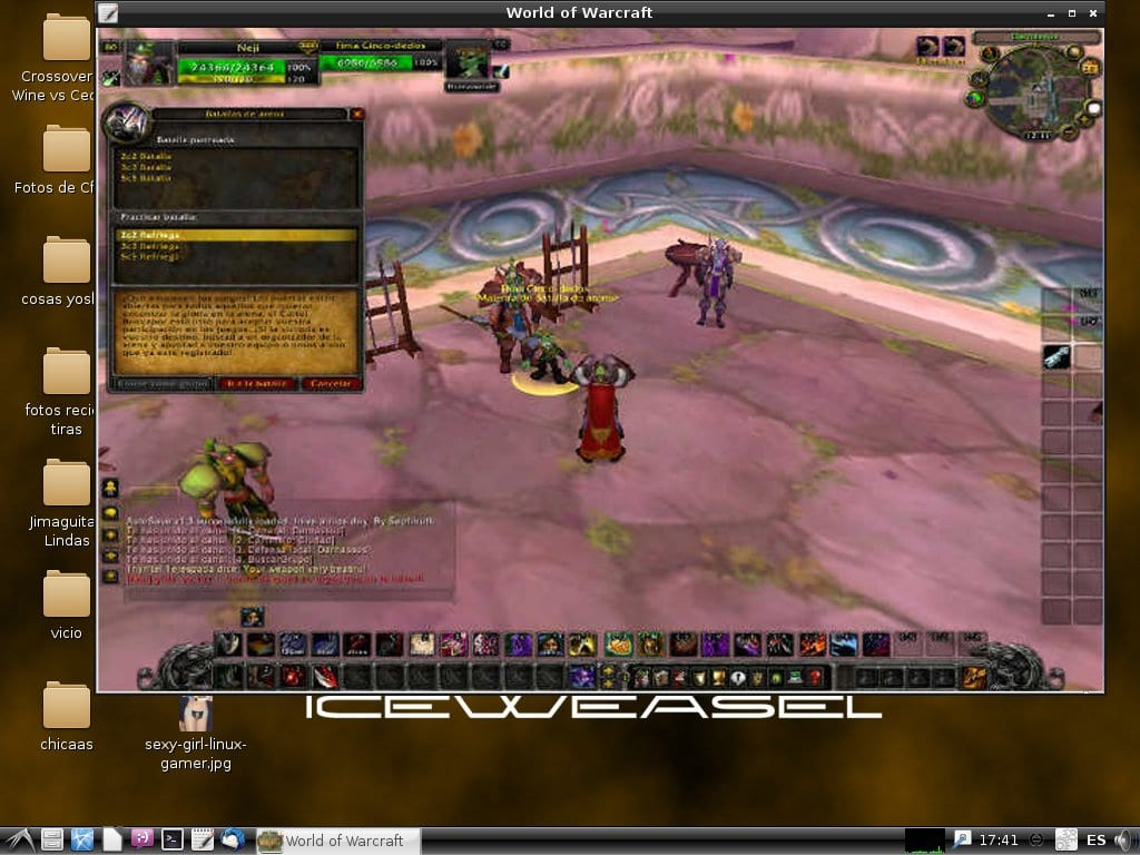 WoW on Linux