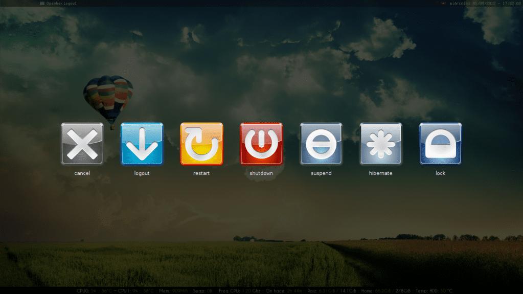 Instalación y Personalización de OpenBox