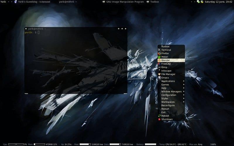Los mejores temas para Fluxbox