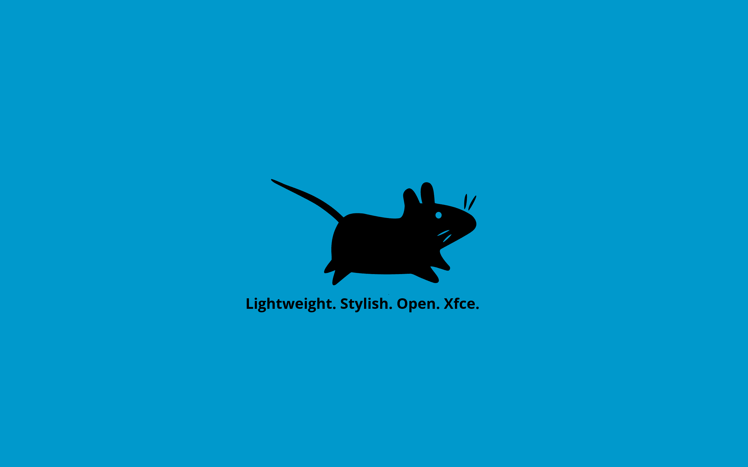 Xfce للجدران الأزرق