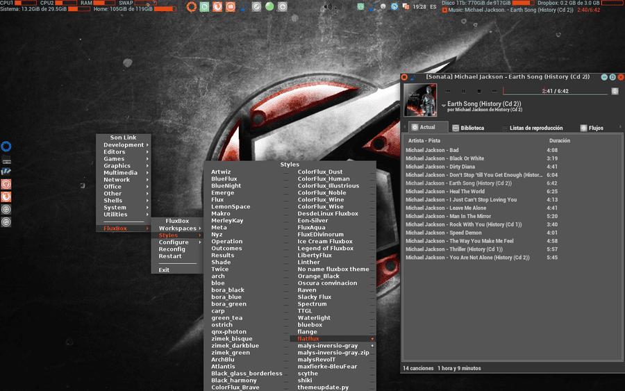 Fluxbox: Instalación y puesta a punto