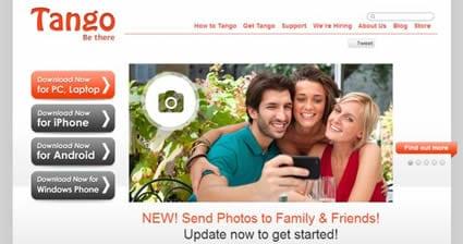 Actualizacion de Tango para Android e iOS