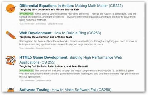 Descargar tutoriales de Udacity