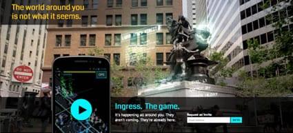 Ingress - El juego de Google con Realidad Aumentada