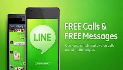 Line - la competencia directa del Whatsapp
