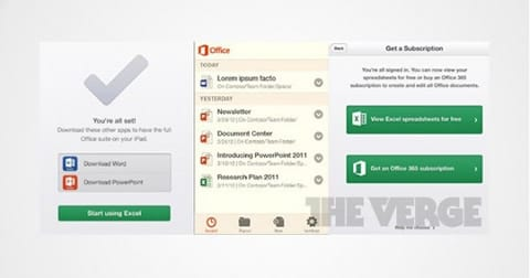 Office Mobile para iOS y Android