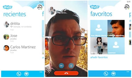 Skype preliminar para Windows Phone 8