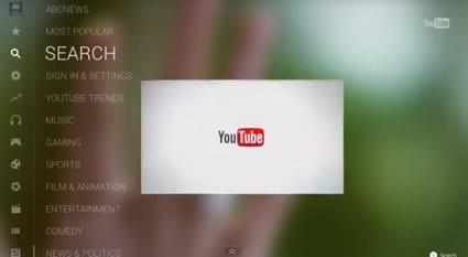 Aplicacion Oficial de Youtube para Wii U