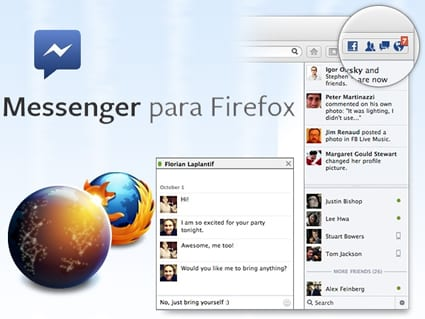 Firefox 17 incluye Chat de Facebook