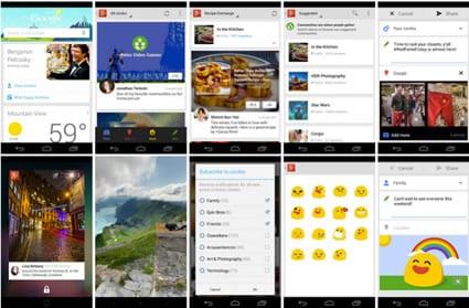 Google + para iOS actualizado