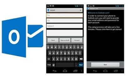 Nueva app de outlook para Android