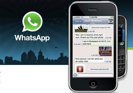 Whatsapp ya es gratis para iPhone