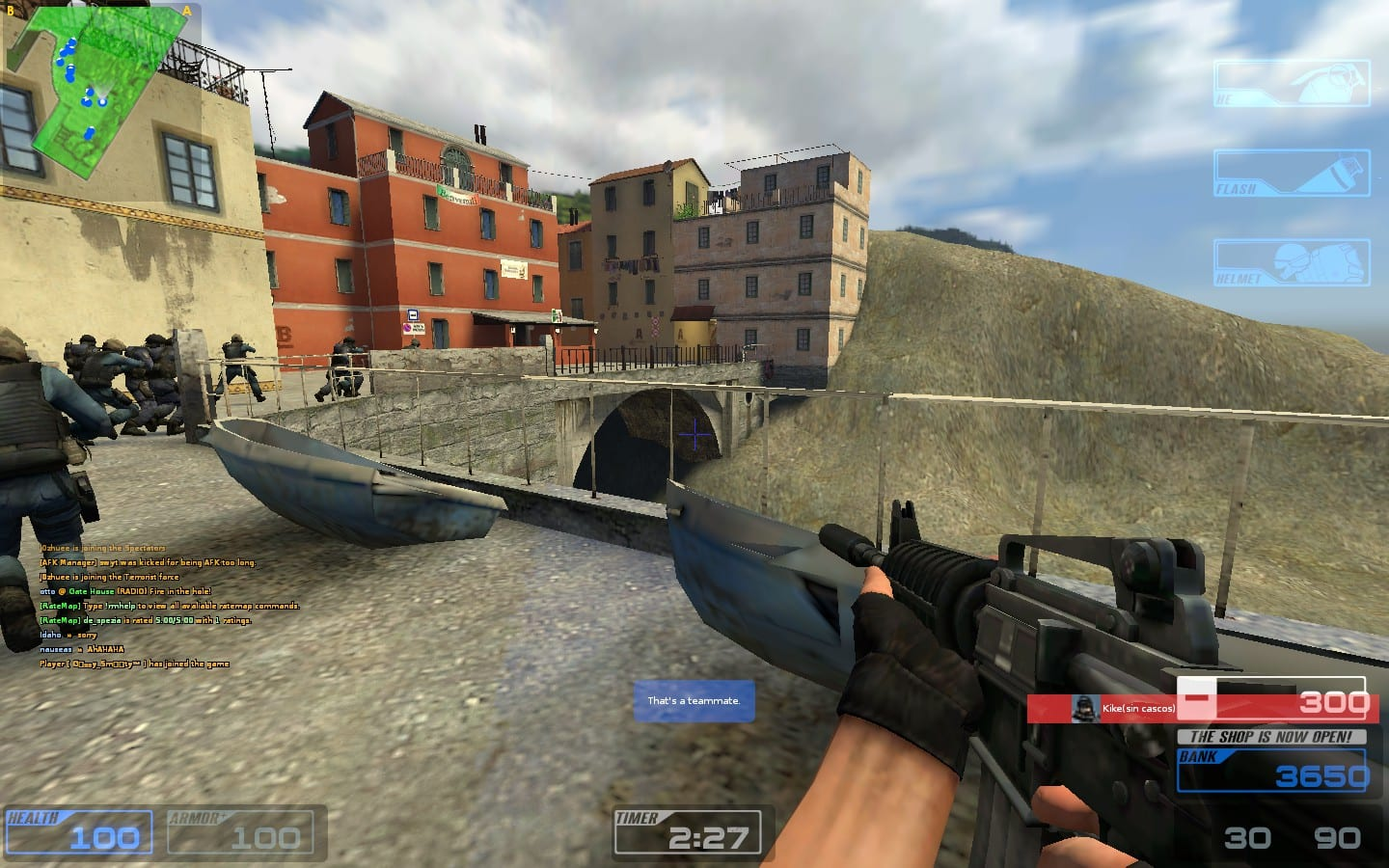 Captura de pantalla de Counter Strike: Source