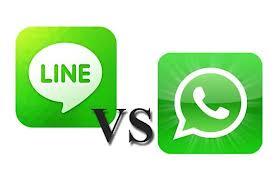 Diferencia entre LINE y WhatsApp