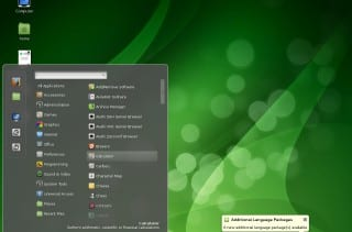 Manjaro Cinnamon Community Edition 0.8.5