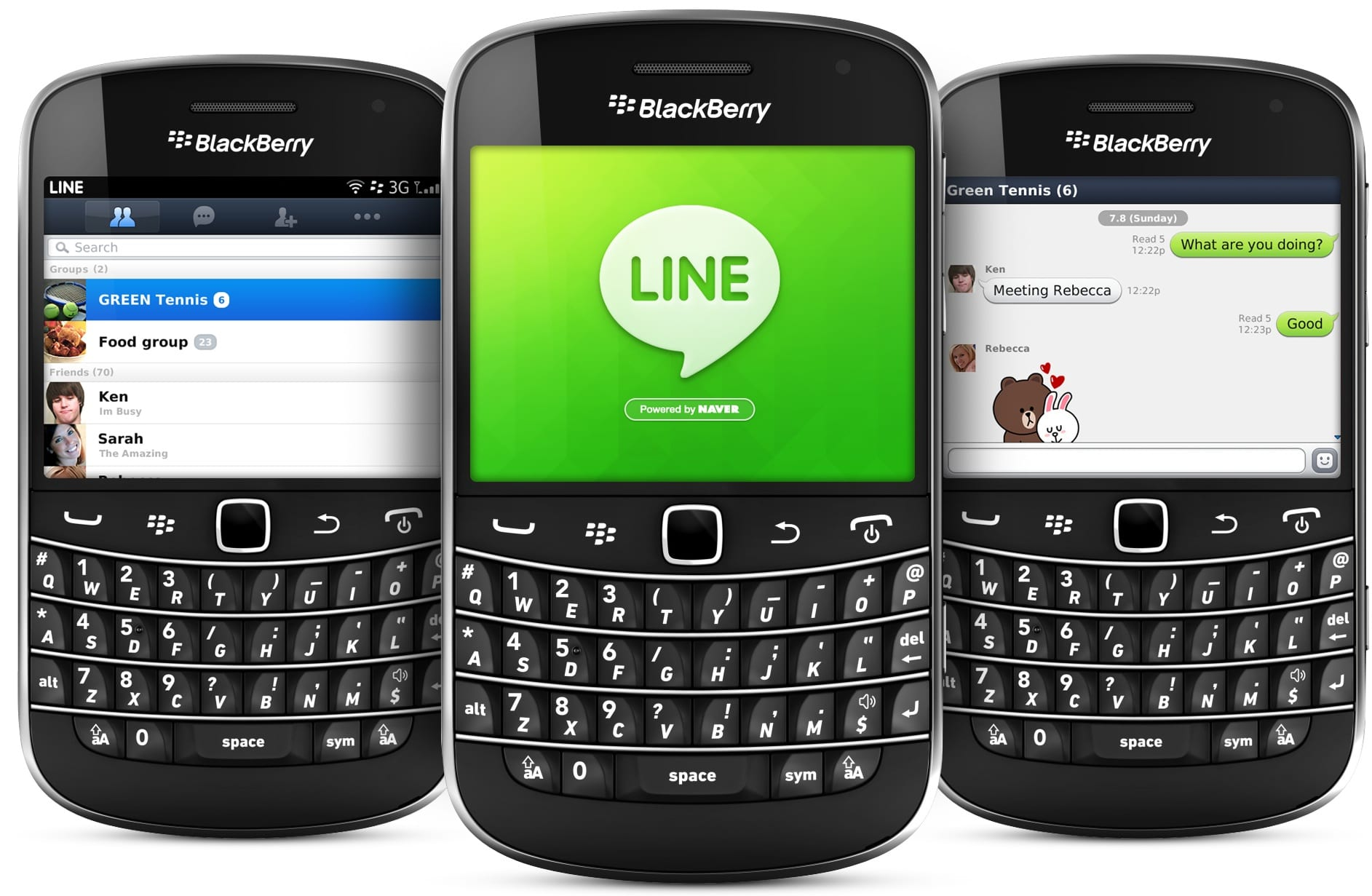 descargar line blackberry
