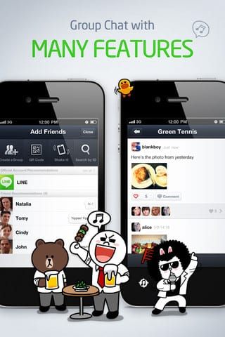 descargar line iphone