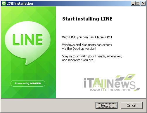 descargar line windows mac
