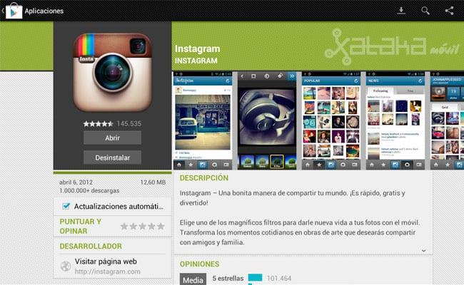 Descargar Instagram para Android