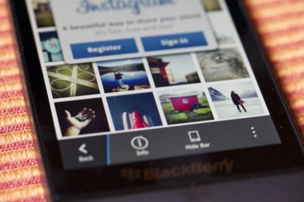 Descargar Instagram para BlackBerry