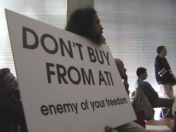 Richard Stallman - Cuando hay que darle la razón, hay que dársela.