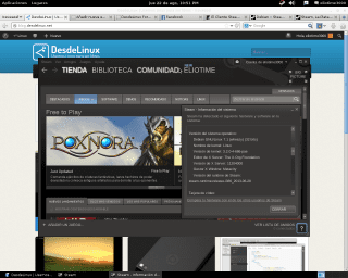 Steam en Debian Wheezy