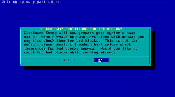 Slackware-7-swap-particion-2