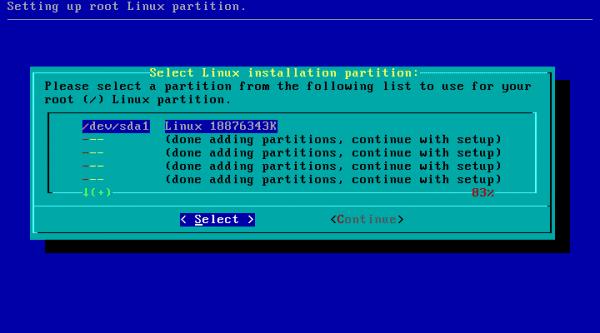 Slackware-7-swap-particion-4