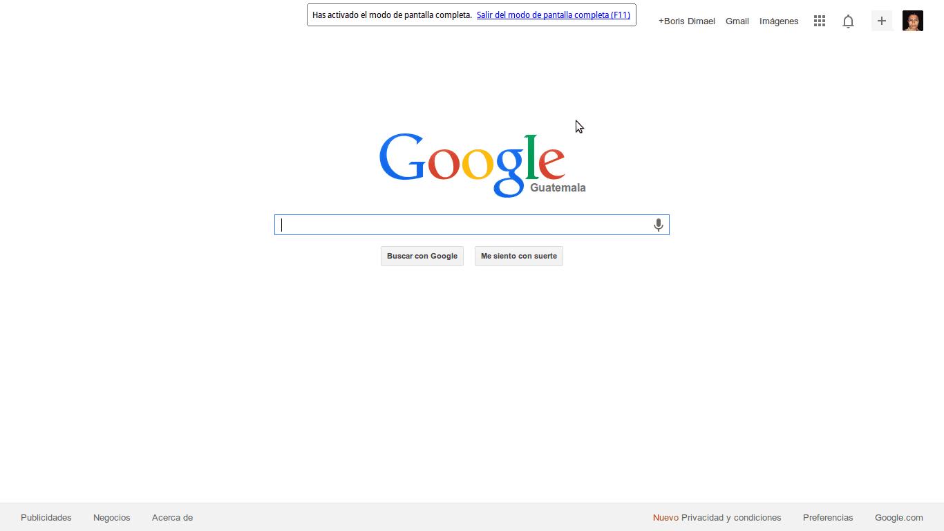 Problemas con la Pantalla completa en Chrome? Aquí la solución