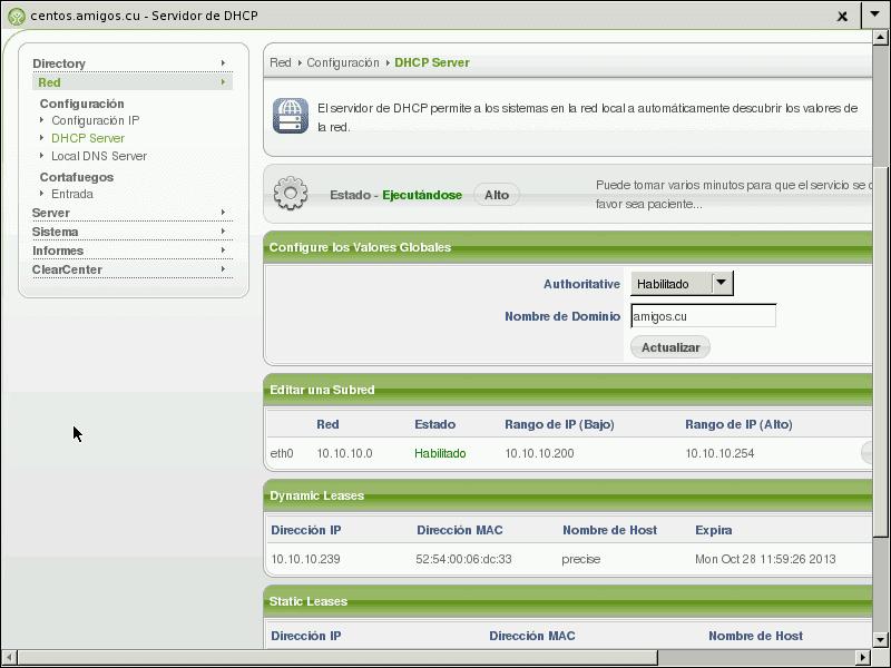 Red SWL (II): Ubuntu 12 04 y ClearOS  Autenticación LDAP