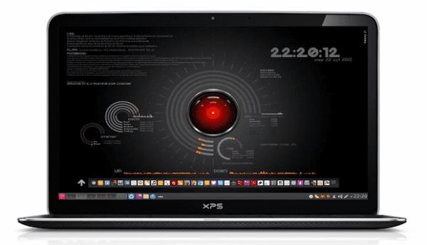 Distro: Debian Wheezy. Entorno: KDE. Iconos: Moka. Cursores: Ringo. Theme Aplicaciones: Oxigeno. Esquema de color: Produkt (Naranja) Theme Desktop: Caledonia / Wave Remix Opaque Decoración de Ventanas: Oxigeno. Conky: Seamod (Modificado y Ampliado). Docky: Lanzamiento Rápido - Elementos gráficos de KDE.