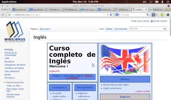 Curso completo de Inglés