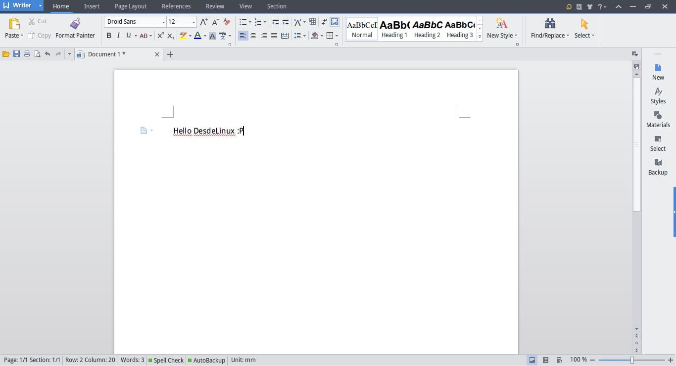 Kingsoft Office 2013 traduccion al español