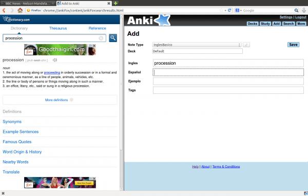 Ankifox en acción