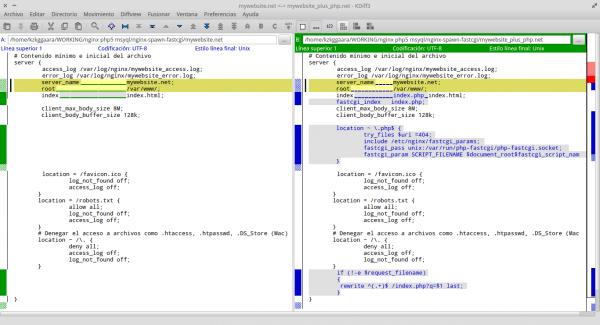 nginx_mysql_spawn-fastcgi_comparing_mywebsite_confs