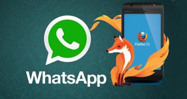 FirefoxOS + WhatsApp