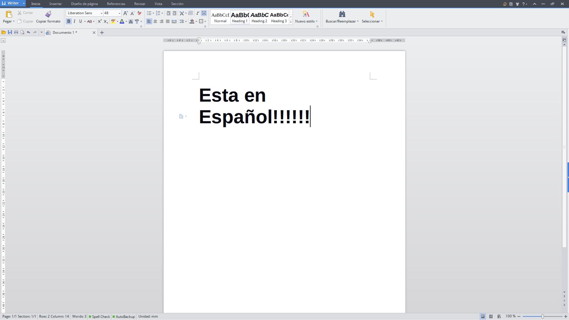 KingSoft Office en Español, le mostramos como lograrlo