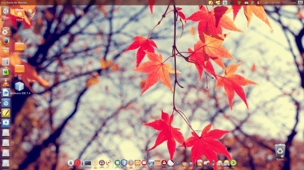 SO: Ubuntu 13.10 Iconos: Breathe Dock: Cairo Dock con iconos numix-circle Tema: Zoncolor