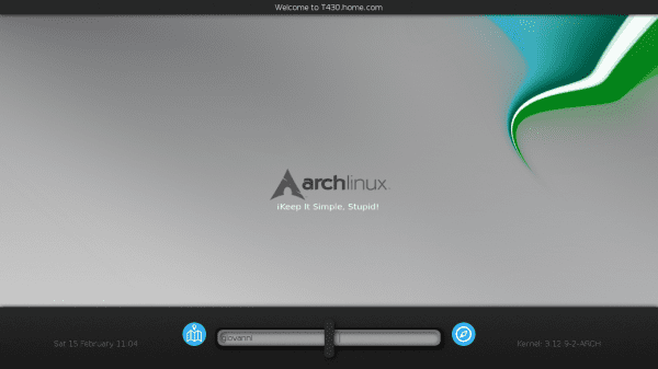 kdm-archlinux-screenshot