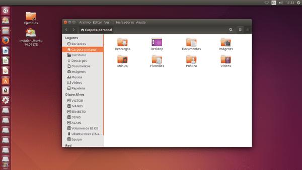 Ubuntu 14.04 Ambiance
