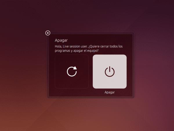 Ubuntu 14.04 Apagado