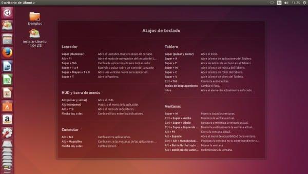 Ubuntu 14.04 Atajos