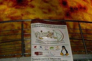 Cartel promocinoal del FLISoL 2014 en Cuba