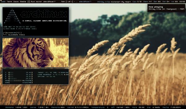 2014-ArchLinux Alejandro Ponce