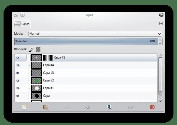 GIMP Capas
